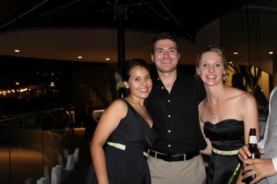 Melissa, Taso, and Cassie
