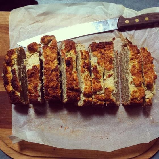 Gluten- free coconut banana bread
