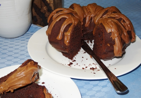 Bittersweet Chocolate-Espresso Bundt Cake