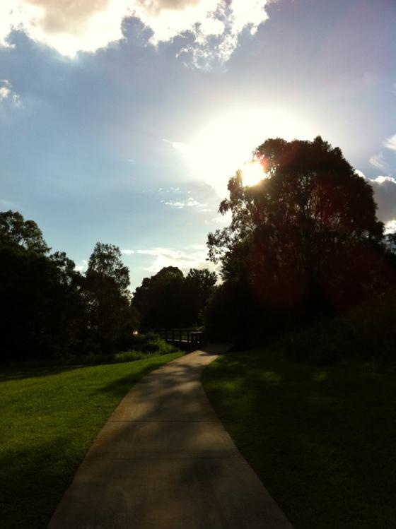 Spots of beauty hidden in suburbia