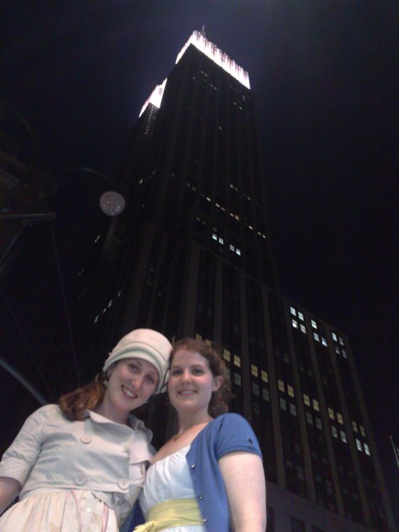 Casey and I in the city that never sleeps