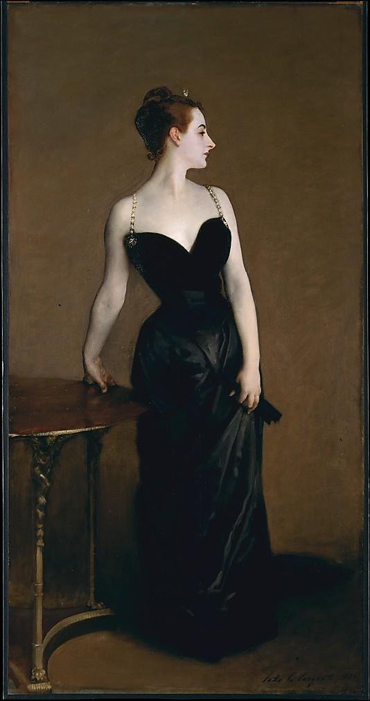 Madame X (Madame Pierre Gautreau) John Singer Sargent  (American, Florence 1856–1925 London) Metropolitan Museum of Art