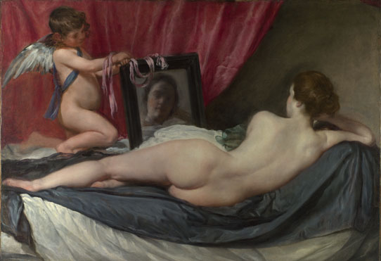 The Toilet of Venus ('The Rokeby Venus') 1647-51, Diego Velázquez. The National Gallery, UK