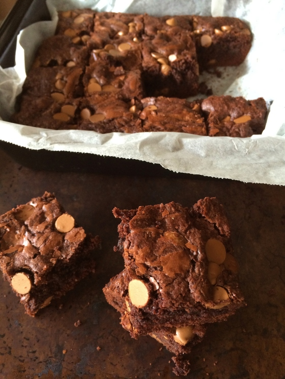 Melt and Mix Chocolate Brownies