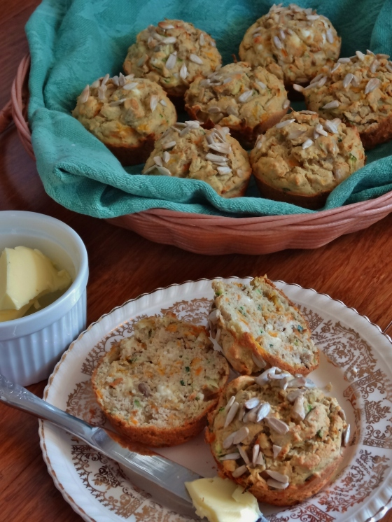 Carrot Zucchini Muffins (gluten free) | Thoroughly Nourished Life