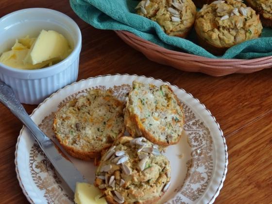 Carrot Zucchini Muffins (gluten free) | Thoroughly Nourished Life