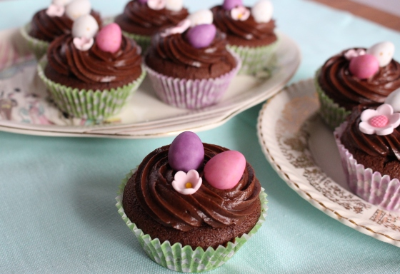 Chocolate Cupcakes with Chocolate Buttercream | Gluten Free | Thoroughly Nourished Life