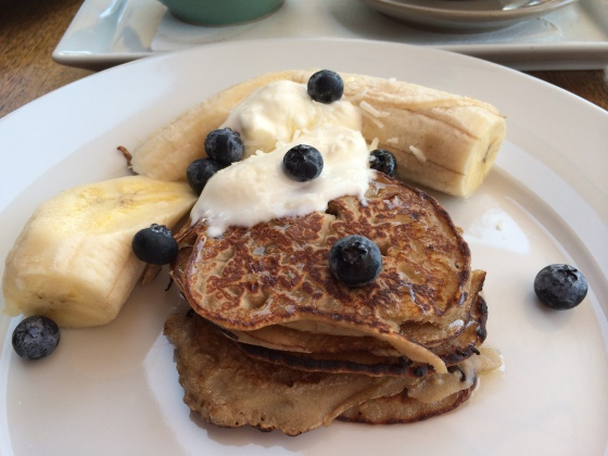 Buckwheat Pancakes at Ginger Pig | Byron Bay