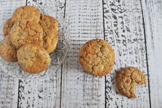Sprinkle and White Chocolate Cookie | Gluten Free | Thoroughly Nourished Life
