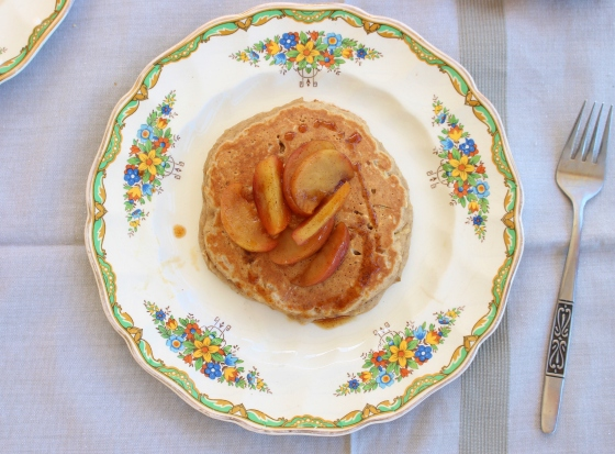 Apple and Oat Pancakes | Gluten Free | Thoroughly Nourished Life