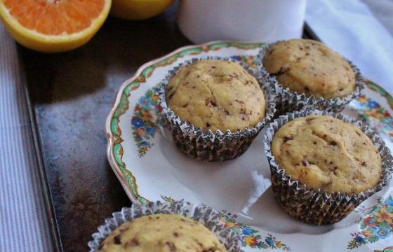 Choc Chip Orange Muffins 1