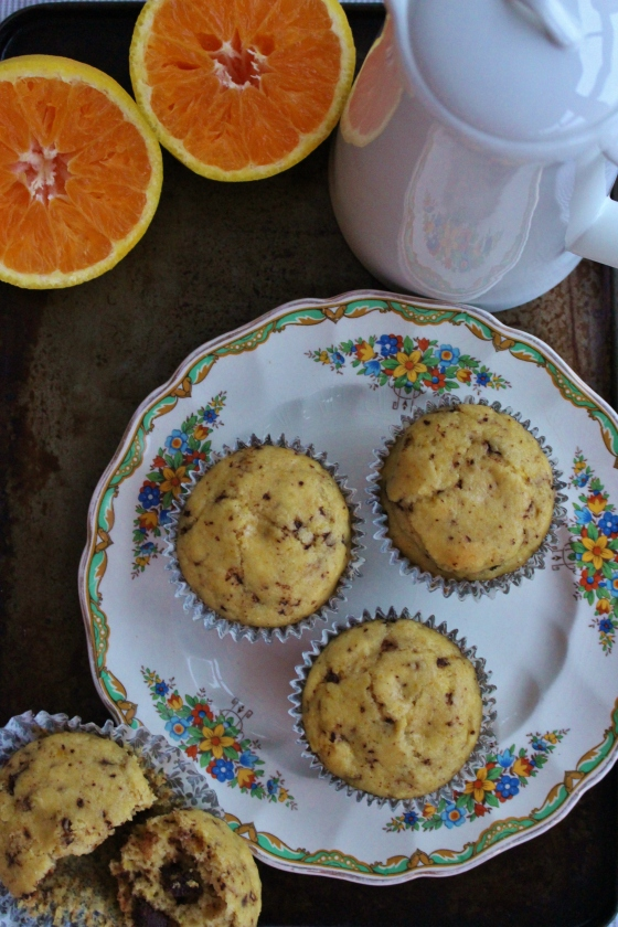 Choc Chip Orange Muffins 2