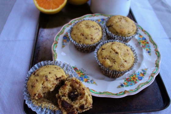 Choc Chip Orange Muffins 3