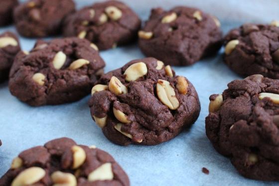 Chocolate Peanut Cookies 5