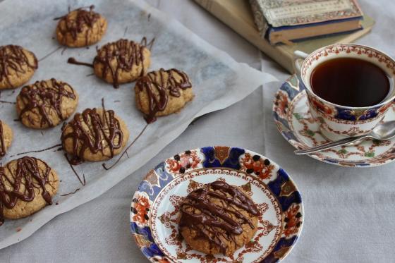 Peanut Butter and Tahini Cookies | Gluten Free | Vegan | Thoroughly Nourished Life