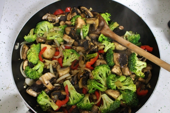 Spicy Mushroom and Broccoli Stir Fry | Vegan | Gluten Free | Thoroughly Nourished Life
