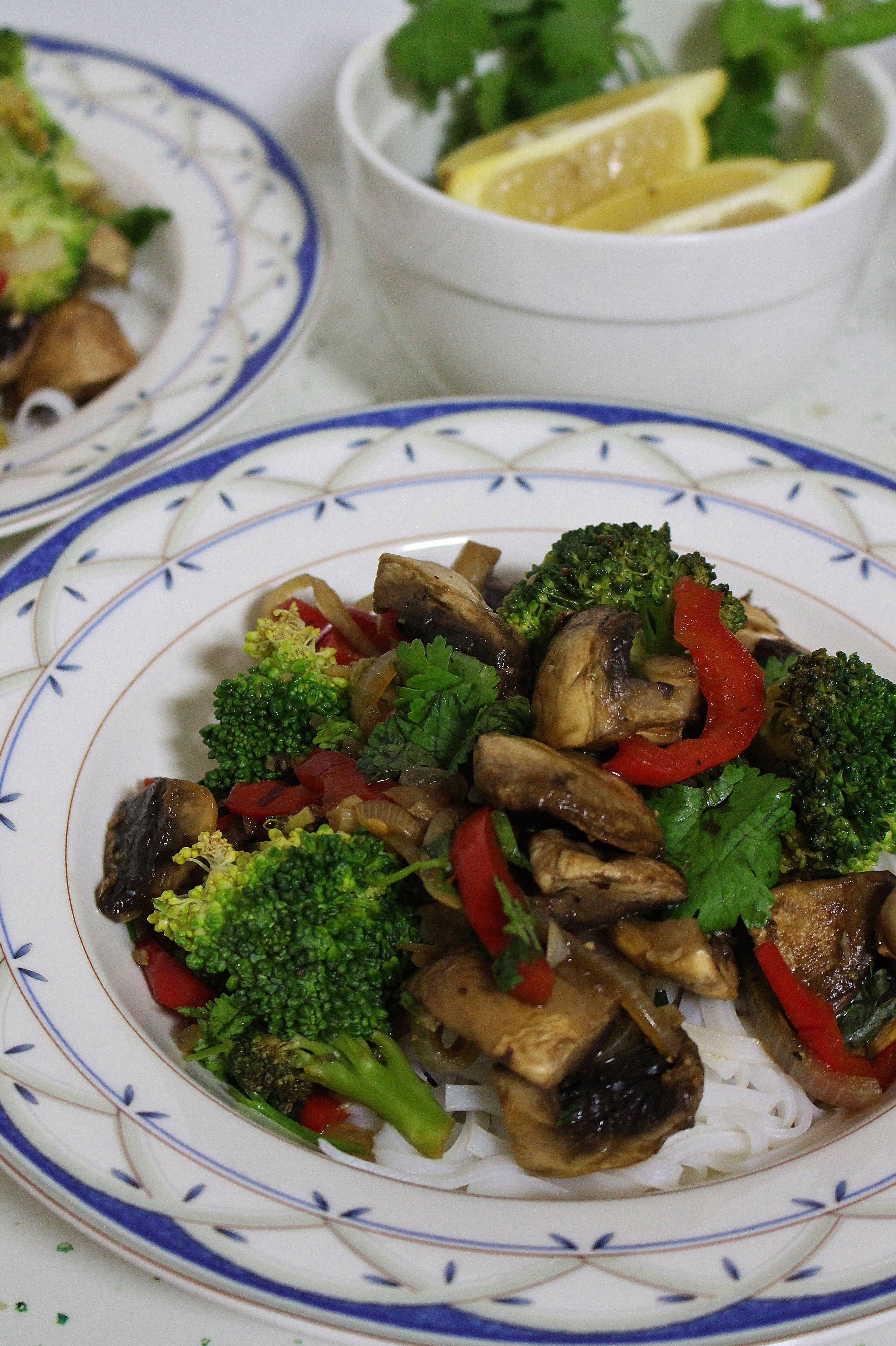 Spicy Mushroom and Broccoli Stir Fry | Thoroughly Nourished Life