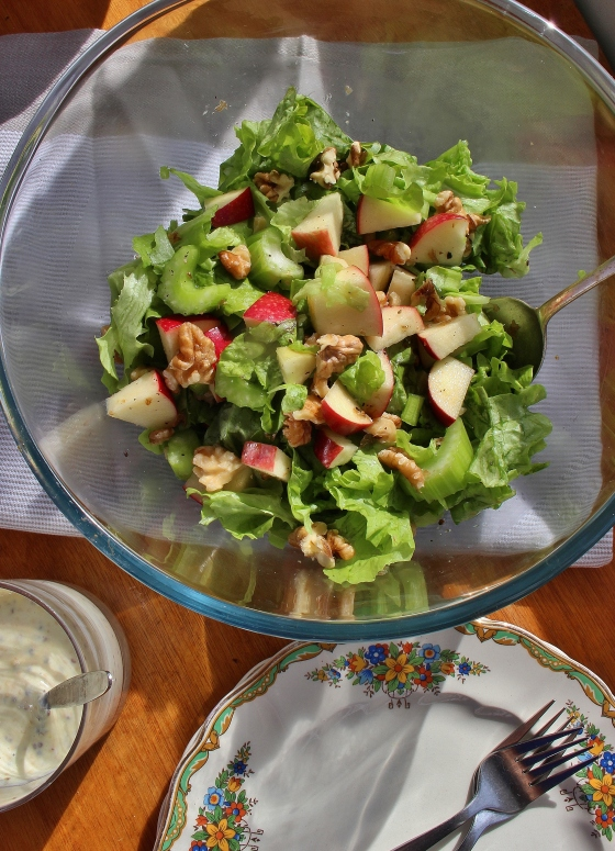 Apple Celery Walnut Salad 2