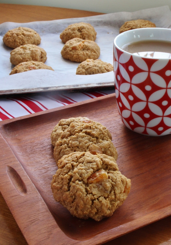Apricot Coconut Cookies 2