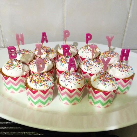 mums cupcakes
