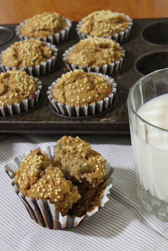 Peanut Butter and Millet Muffins | Gluten Free | Thoroughly Nourished Life