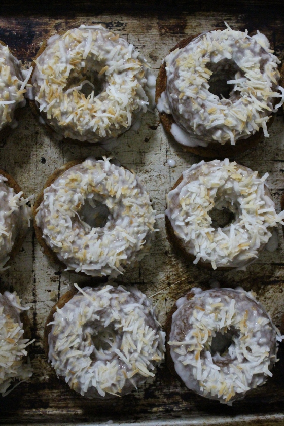 Banana and Coconut Baked Doughnuts | Gluten Free | Thoroughly Nourished Life