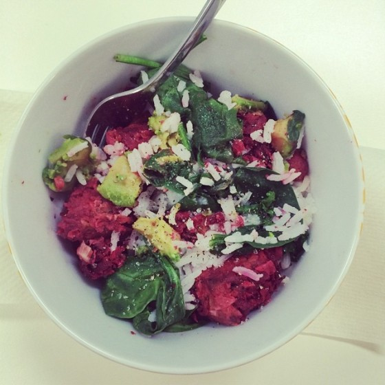 Beetroot bowl