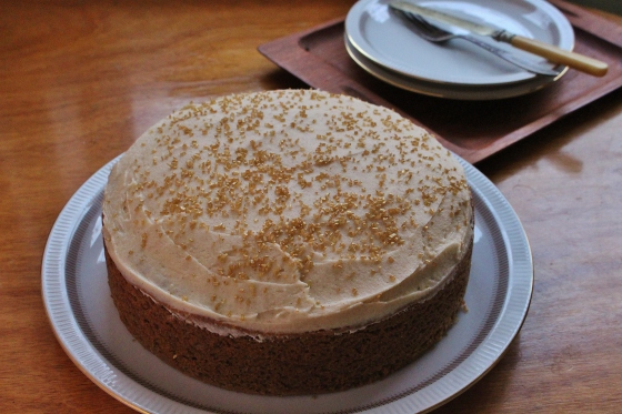 Chai Spiced Cake with Cream Cheese Frosting | Gluten Free | Thoroughly Nourished Life