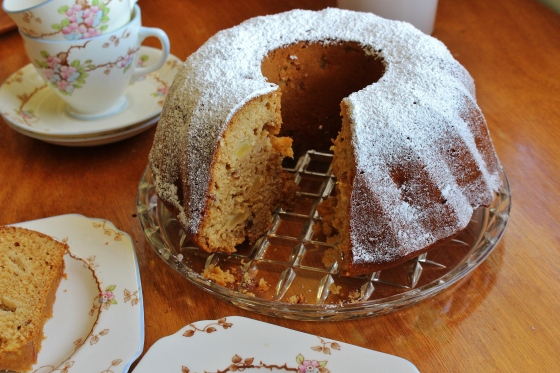 Ginger, Apple, and Almond Cake | Thoroughly Nourished Life