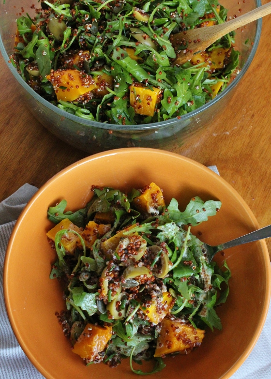 Moroccan Pumpkin and Quinoa Salad | Vegetarian | Gluten Free | Thoroughly Nourished Life