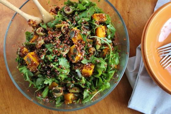 Moroccan Pumpkin and Quinoa Salad | Vegetarian | Gluten Free | Thoroughly Nourished Life