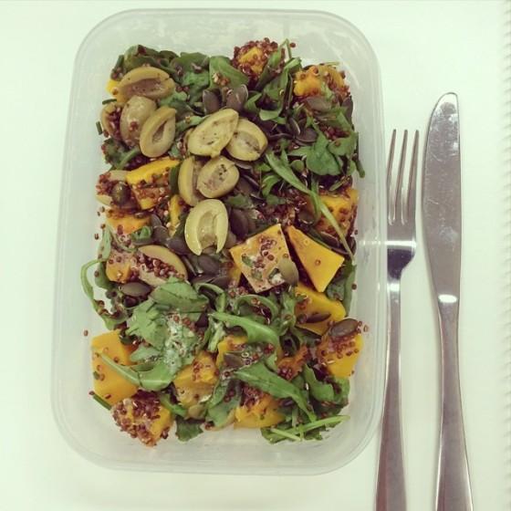 Moroccan Pumpkin Salad