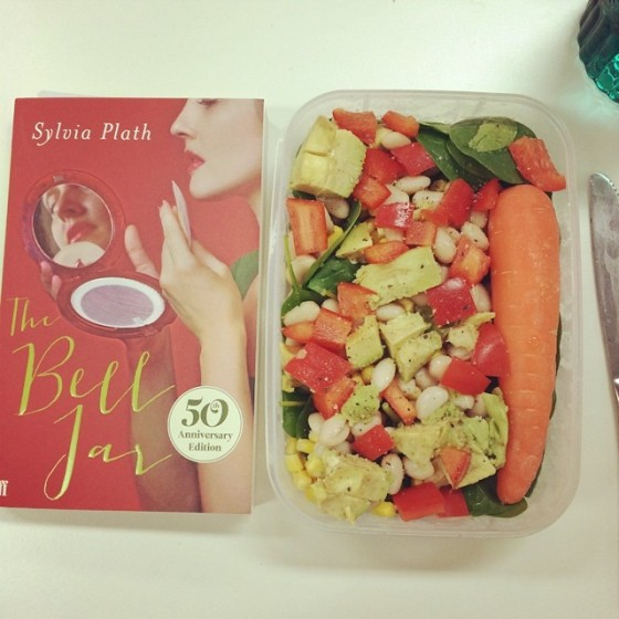 plath and lunch