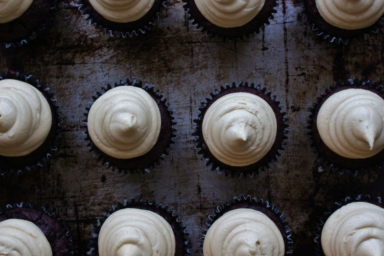 Beetroot Chocolate Cupcakes with Golden Syrup Buttercream | Gluten Free | Thoroughly Nourished Life