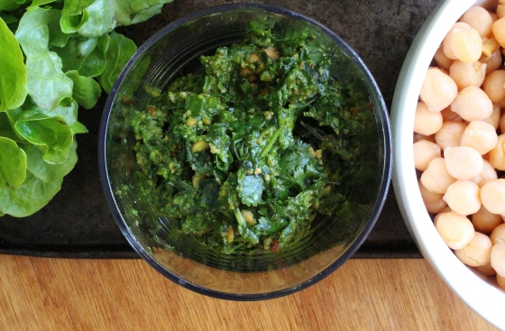 Coriander Pesto Quinoa Salad 3