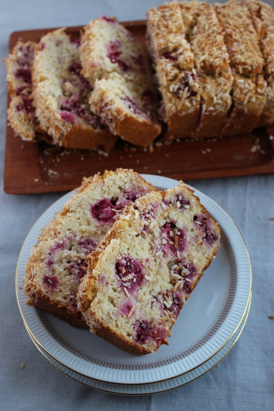 Raspberry and Coconut Loaf | Gluten Free | Thoroughly Nourished Life