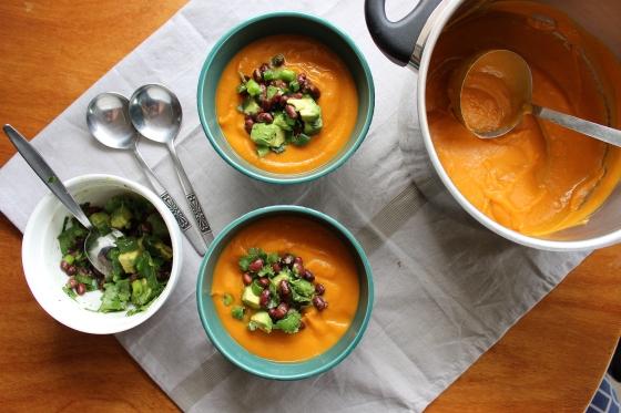 Chipotle Sweet Potato Soup | Vegan | Gluten Free | Thoroughly Nourished Life