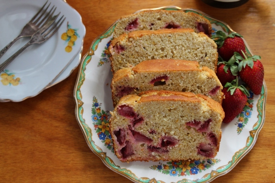 Strawberry and Chia Bread | Gluten Free | Thoroughly Nourished Life