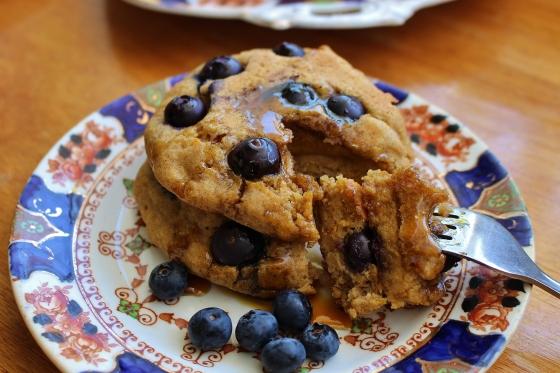 Blueberry Pumpkin Pancakes | Gluten Free | Thoroughly Nourished Life