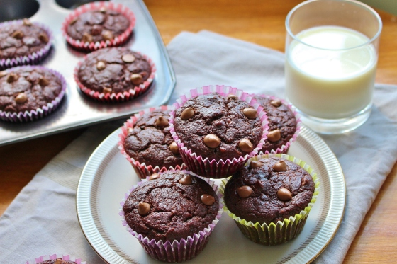 Mocha Banana Muffins | Gluten Free | Thoroughly Nourished Life
