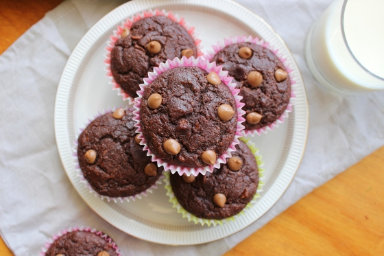 Mocha Banana Muffins | Gluten Free | Thoroughly Nourished Life