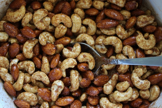 Maple Spiced Roast Nuts | Vegan | Gluten Free | Thoroughly Nourished Life