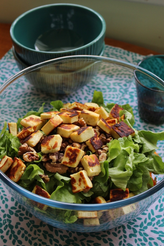 Sweet Potato, Haloumi, and Quinoa Salad | Vegetarian | Gluten Free | Thoroughly Nourished Life
