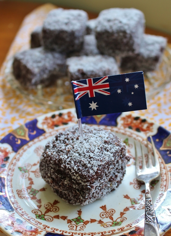Australia Day Lamingtons | Gluten Free | Thoroughly Nourished Life | www.thoroughlynourishedlife.com