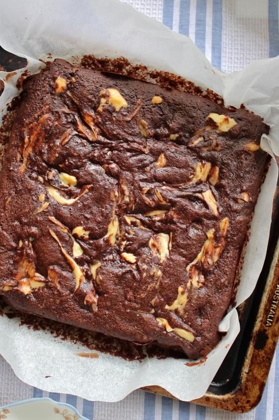 Cream Cheese Beetroot Swirl Brownies | Gluten Free | Thoroughly Nourished Life