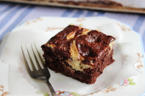 Cream Cheese Beetroot Swirl Brownies | Gluten Free | Thoroughly Nourished Life