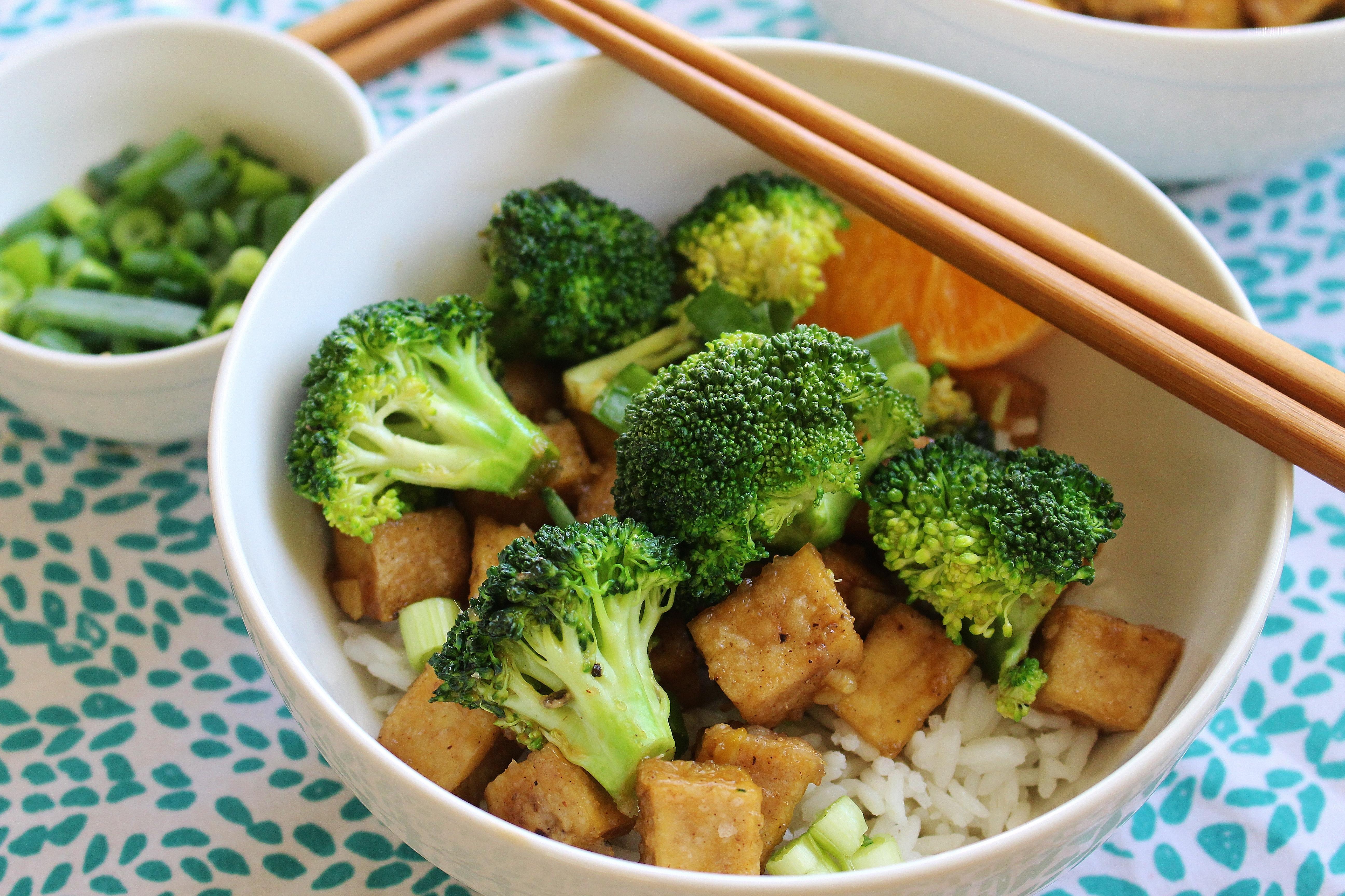 Honey, Orange, and Ginger Broccoli and Tofu Stir-Fry ...