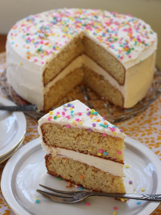 Orange Layer Cake with Vanilla Buttercream | Gluten Free | Thoroughly Nourished Life