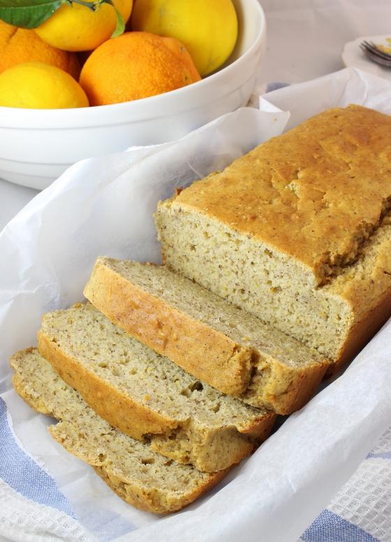 Orange Hazelnut Quick Bread  | Gluten Free |Thoroughly Nourished Life