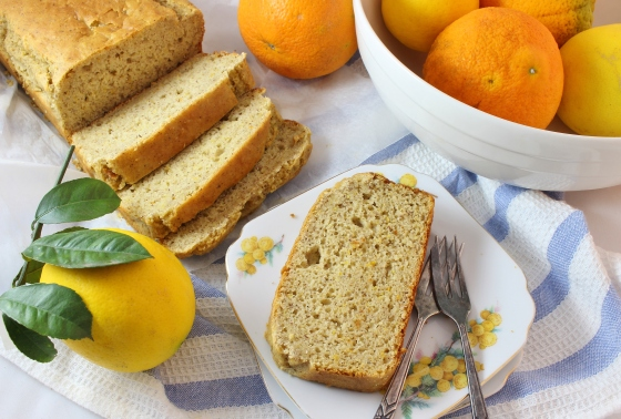 Orange Hazelnut Quick Bread  | Gluten Free |Thoroughly Nourished Life
